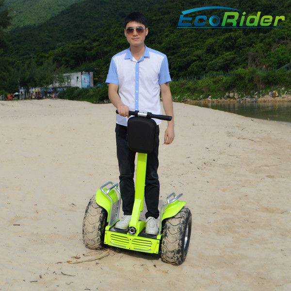 Electric Chariot Yellow Self Balancing Scooters CE Approved Three Modes Switching