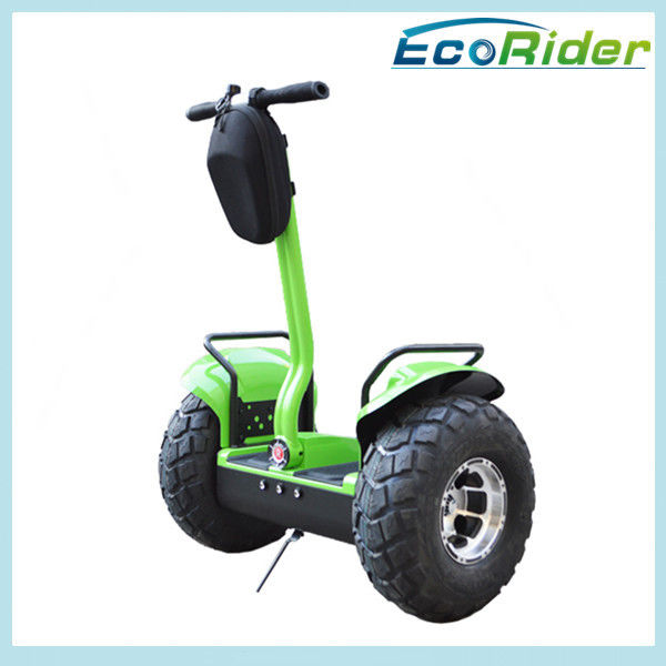 Auto Segway Electric Scooter Two Wheel 19 Inch Intelligent Green Free Standing