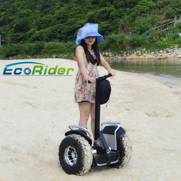 Outdoor Lithium Battery Electric Scooter / Off Road Adult Electric Scooters
