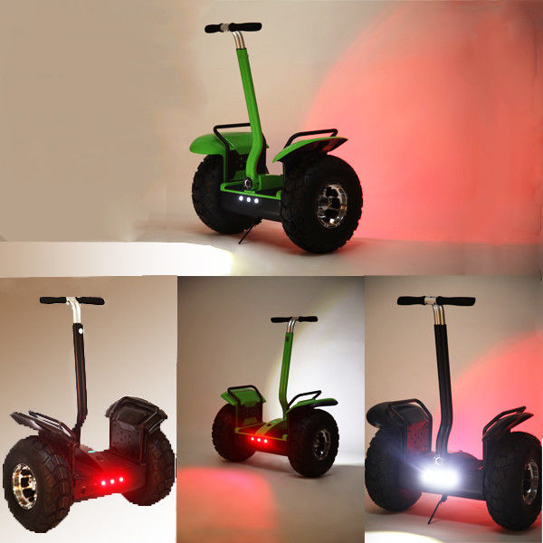 Black Stand Up Electric Scooter For Adult Personal Transport Vehicle