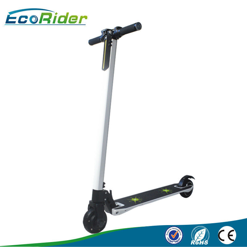 Portable White brushless motor folding mobility scooter Save space