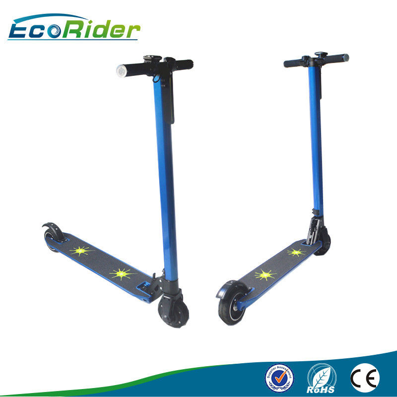 5 Inch Tire 350w kick Foldable Electric Scooter , 20KM Max Speed