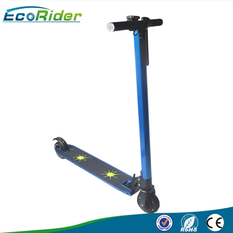 7KG Foldable Electric Scooter , mini folding e bikes Lightweight