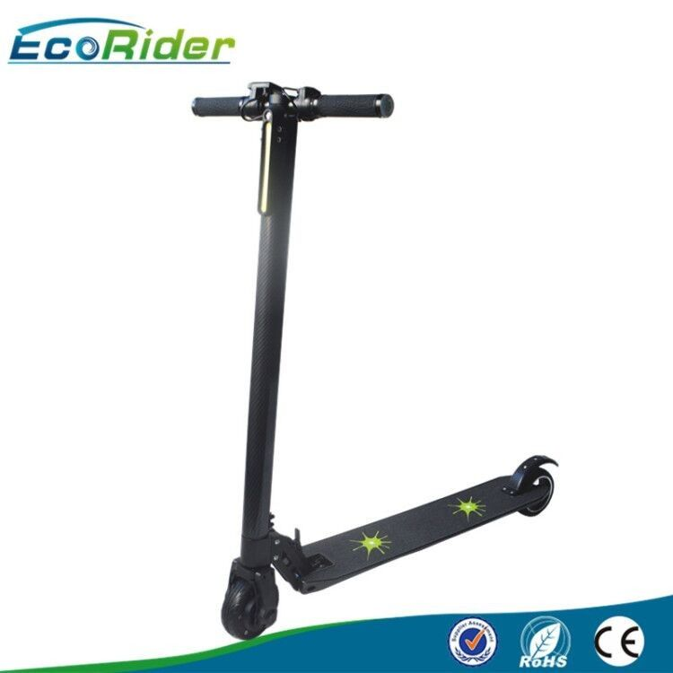 Folding Carbon Fiber Smart Balance Scooters , electric mobility scooter brushless 350w