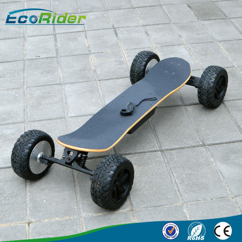 2000W Brushless Motor 4 Wheel Skateboard With Wireless Remote Control 48V 8.8Ah
