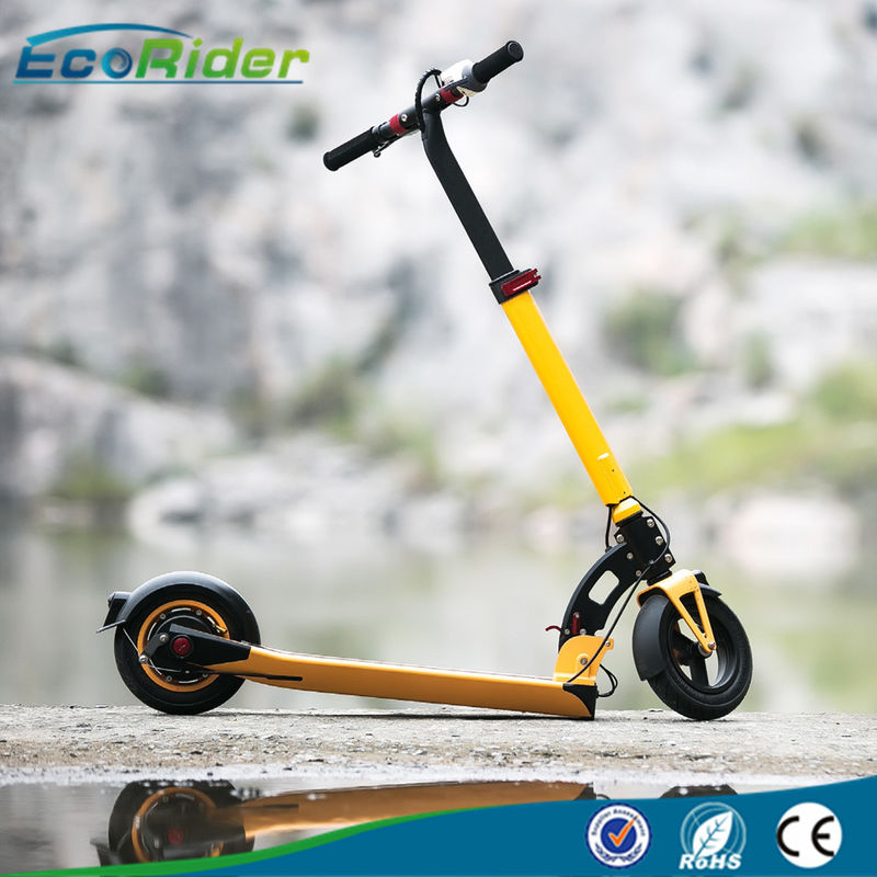 36V Lithium Battery 2 Wheel Foldable Electric Scooter With Ajustable Handle