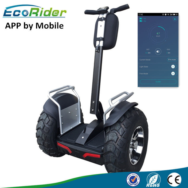 72V 1266Wh Batttery Off Road Segway Electric Chariot With App Bluetooth
